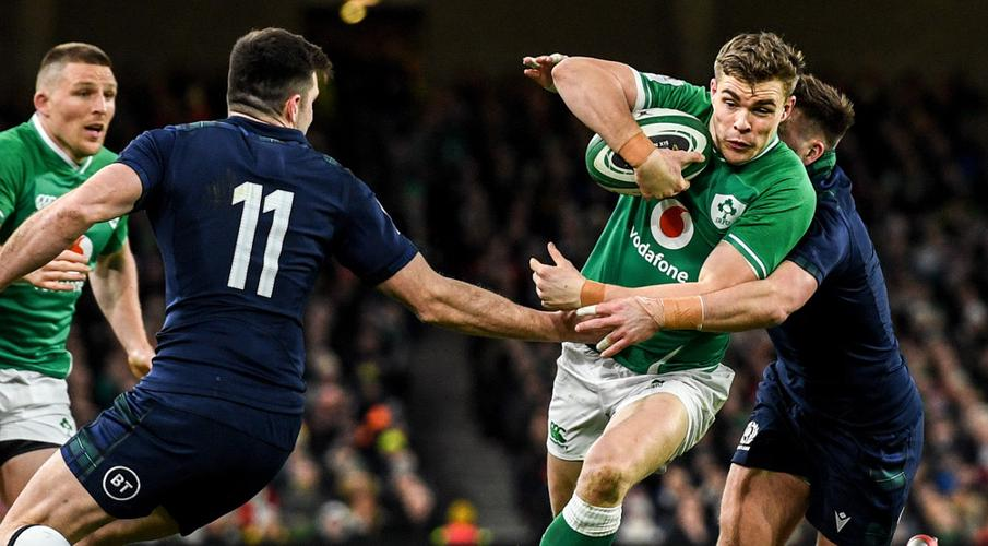 Ireland sweating on Ringrose finger injury